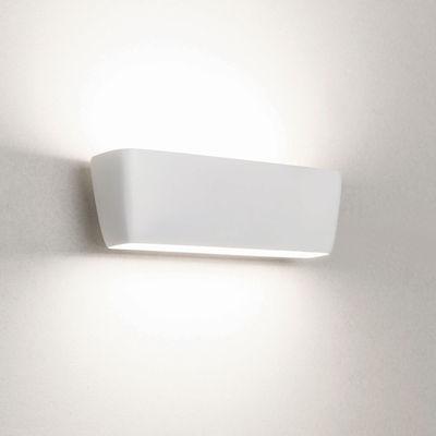Applique Flaca LED / Aluminium - L 28 cm - Nemo blanc en métal