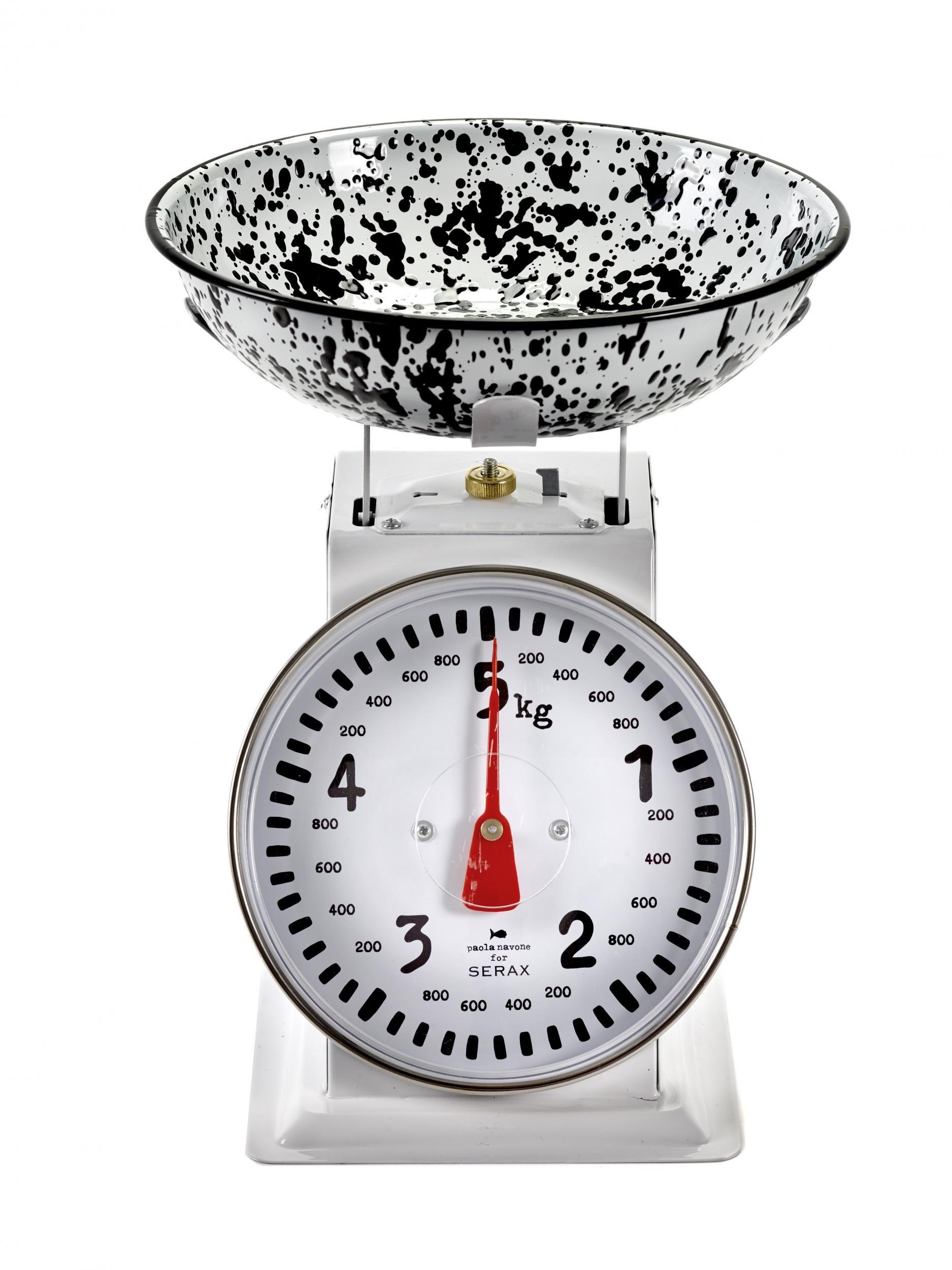 Balance de cuisine m canique pasta pasta 5 kg noir blanc serax made in design - Balance de cuisine mecanique ...