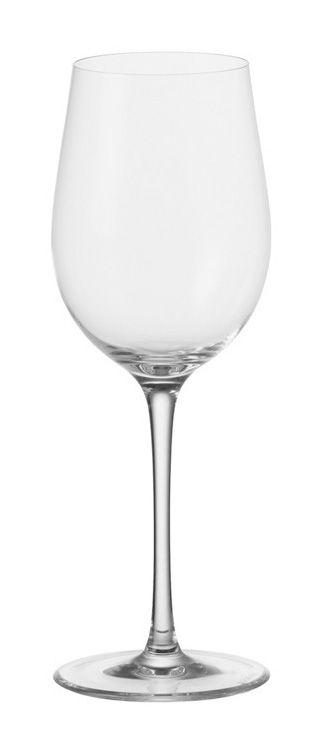 Tavola - Bicchieri  - Bicchiere vino bianco Ciao+ - per vino bianco di Leonardo - Trasparente - Vetro