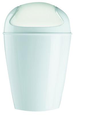 Decoration - For bathroom - Del M Bin - H 44 cm - 12 liters by Koziol - White - Polypropylene