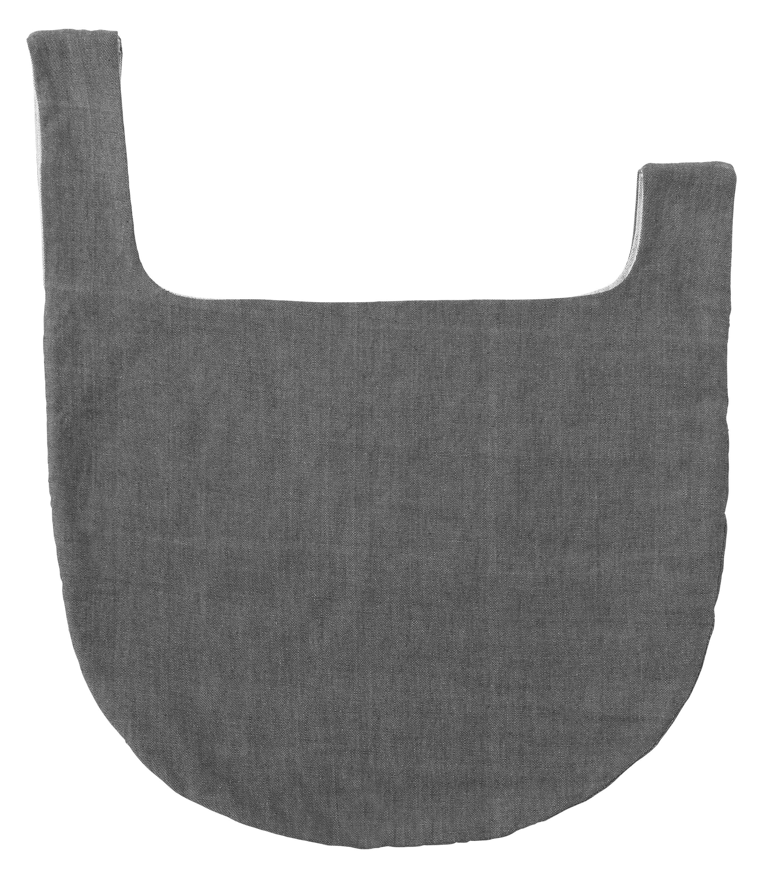 Accessori moda - Borse, Valigie e Portafogli - Borsa Knot Bag / Cotone - Tessuto a mano in Nepal - Menu - Grigio - Cotone