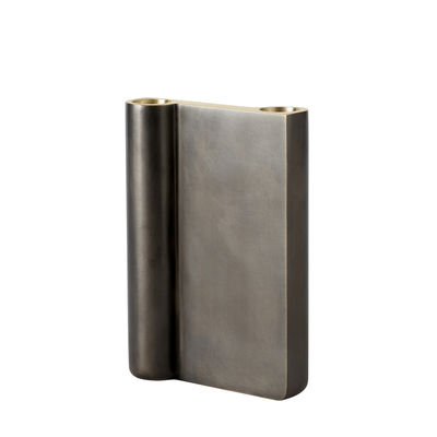 Interni - Candele, Portacandele, Lampade - Candeliere SC41 - / H 16 cm  - Fusione di ottone di &tradition - H 16 cm / Bronzo patinato - Fonte de laiton