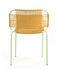 Chaise empilable Cielo / Fils PVC - ames