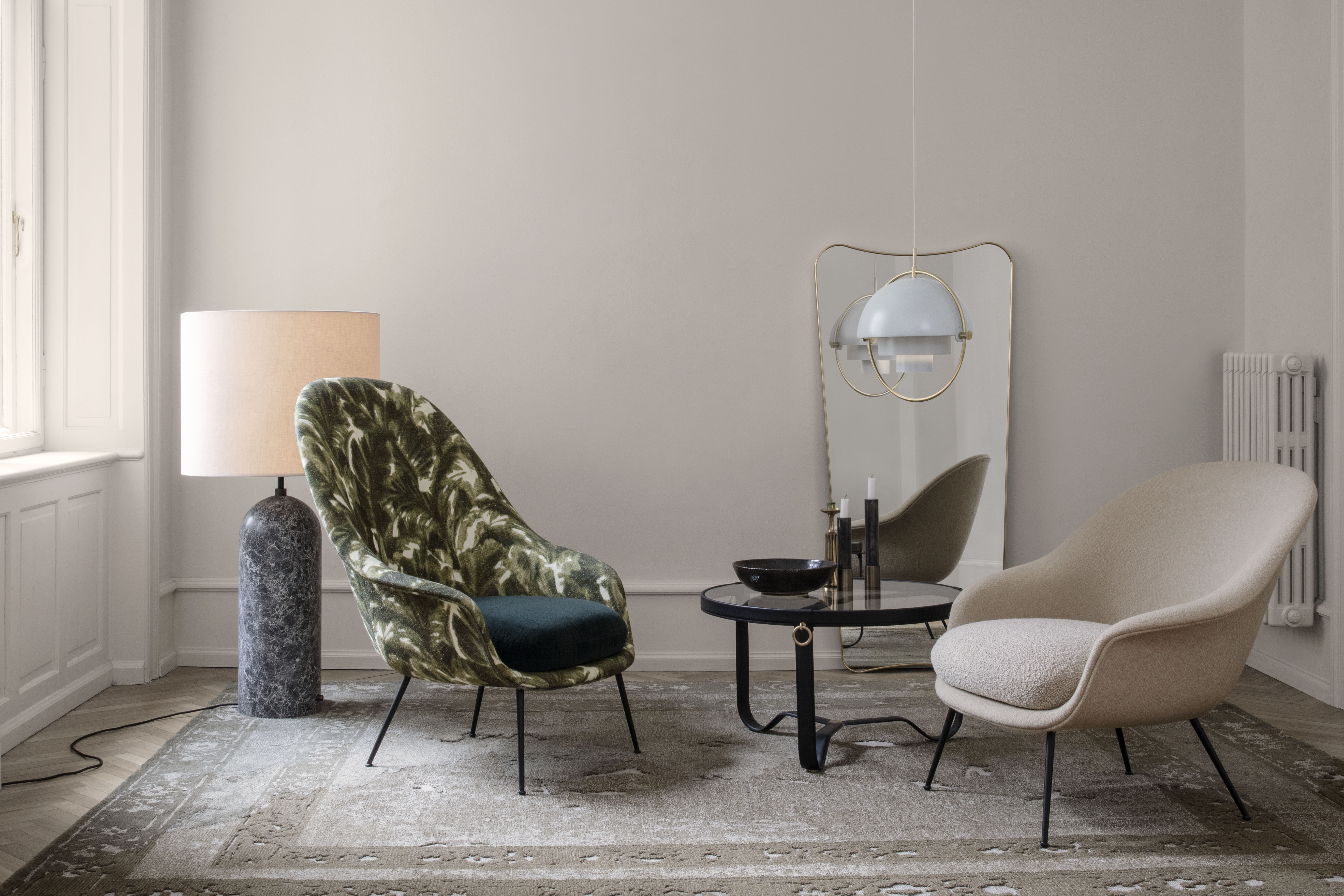 Coffee Table Adnet By Gubi Brown Made In Design Uk