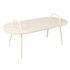 Swim Coffee table - / Metal - 118 x 52.5 cm by Bibelo