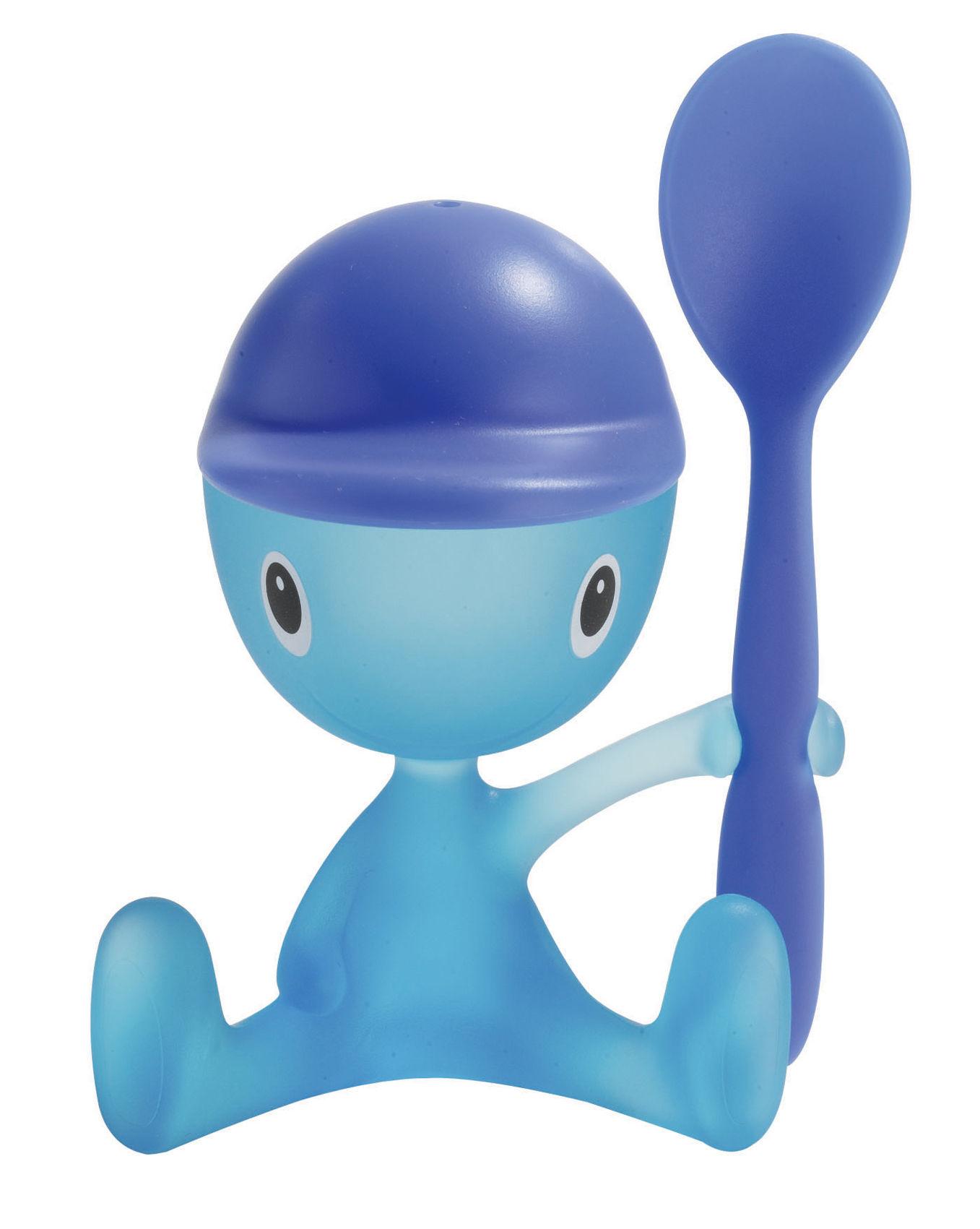 Arts de la table - Coquetiers - Coquetier Cico - A di Alessi - Bleu - Matière plastique