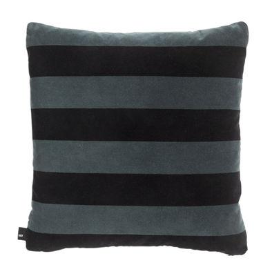 Coussin Soft Stripe / 50 x 50 cm - Velours - Hay vert en tissu