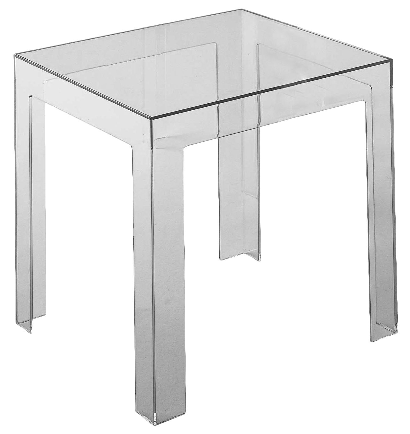Furniture - Coffee Tables - Jolly End table by Kartell - Grey - Polycarbonate