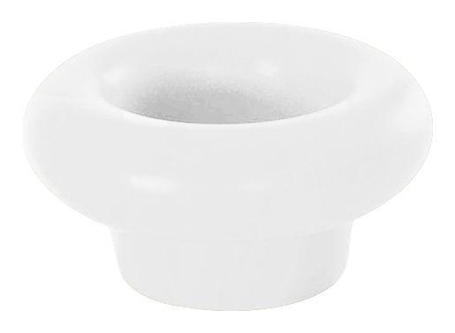 Outdoor - Deko-Accessoires für den Garten - Margarita Flaschenhalter schwimmend / Vase - Slide - Weiß - recycelbares Polyethen