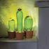 Lampe de table Cactus Sunrise Large / Ciment & verre - H 44 cm - Seletti