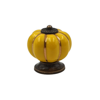 Kitchenware - Pots & Pans - Lid handle - / For Ma Jolie Cocotte casserole dish by Cookut - Ceramic / Pumpkin yellow - Ceramic
