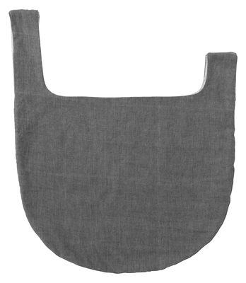 Sac Knot Bag / Coton - Tissé main au Népal - Menu gris en tissu