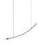 Sospensione Accent - Curved / 126 cm di Serax