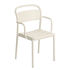 Linear Stackable armchair - / Steel by Muuto