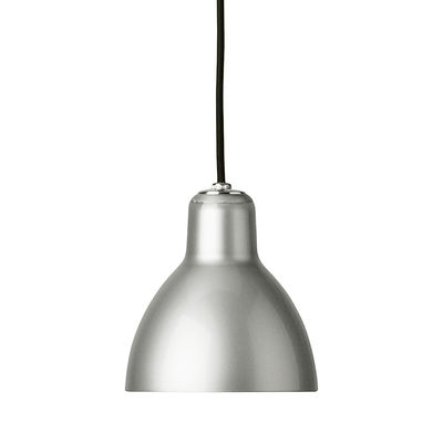 Suspension Luxy H5 /Cordon noir - Rotaliana noir,métallisé en matière plastique