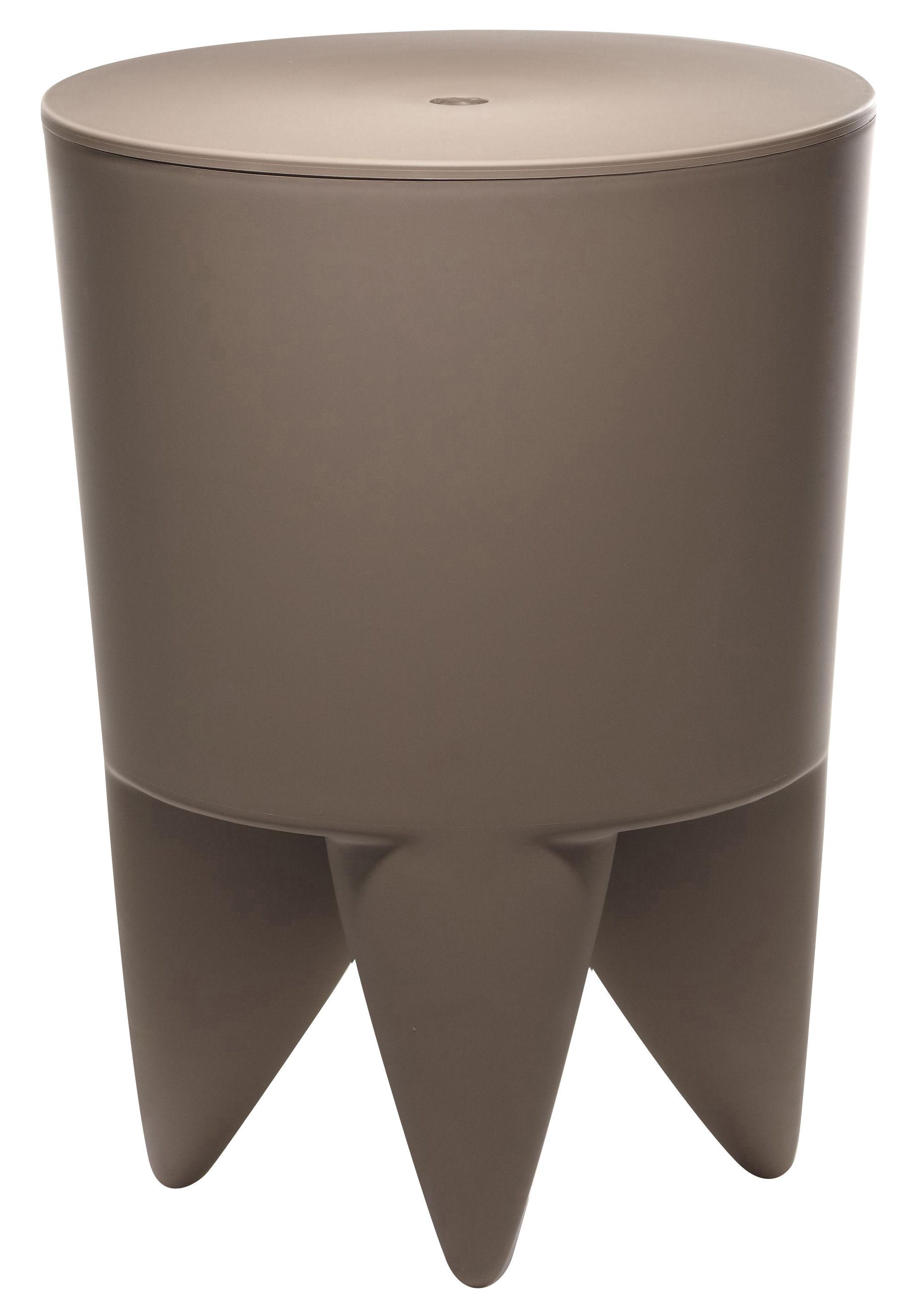 Mobilier - Mobilier Ados - Tabouret New Bubu 1er / Coffre - Plastique - XO - Mushroom - Polypropylène
