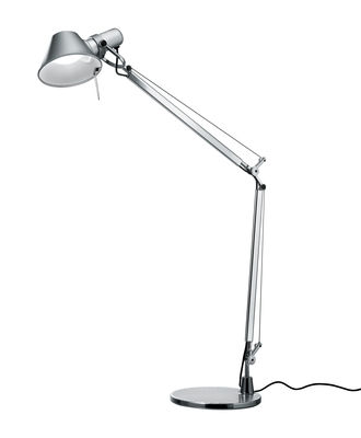 Tolomeo Mini LED Tischleuchte / mit Bewegungsmelder - Artemide - Aluminium
