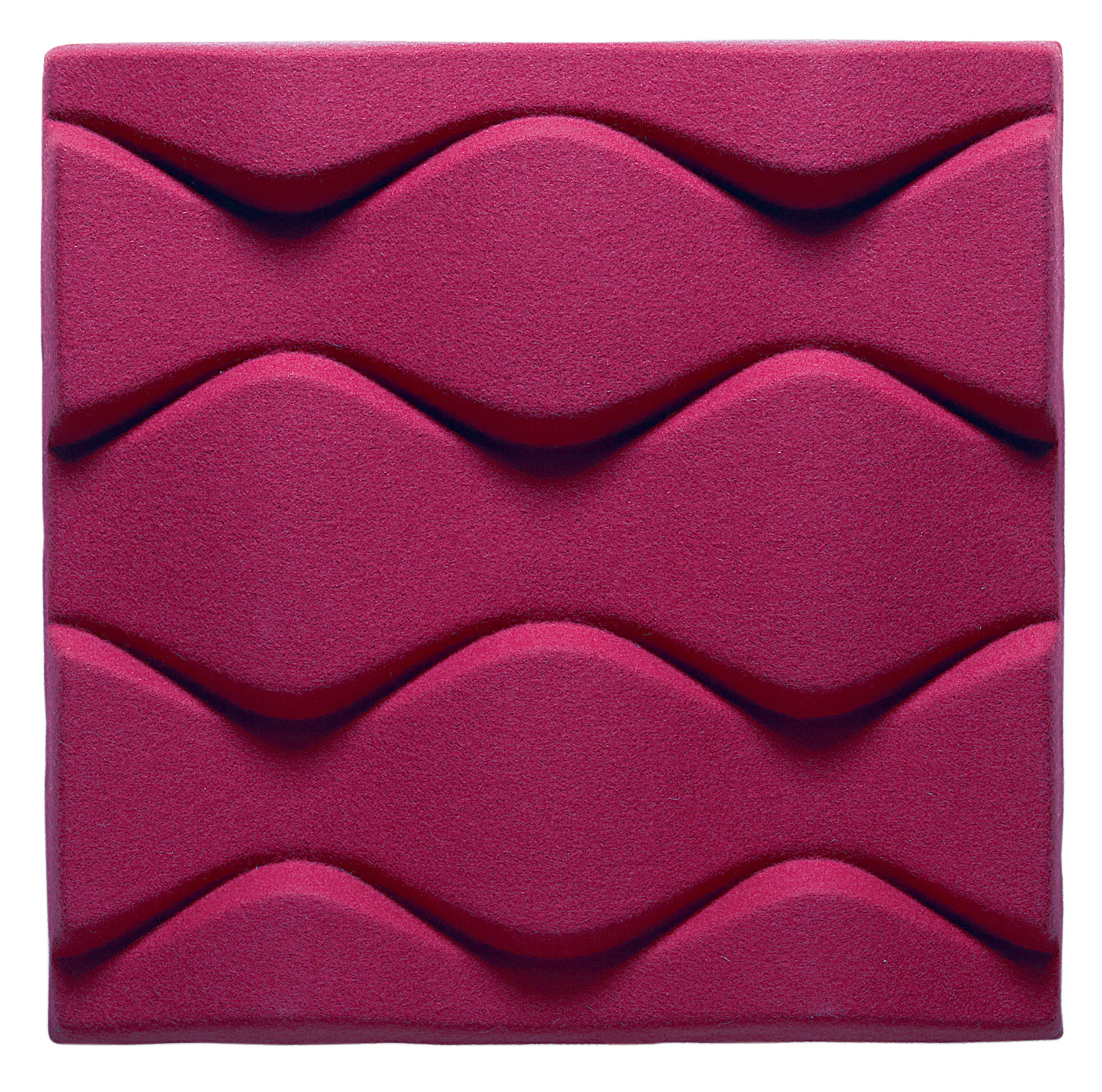 Acoustic Wall Panel Soundwave Flo By Offecct Pink Made