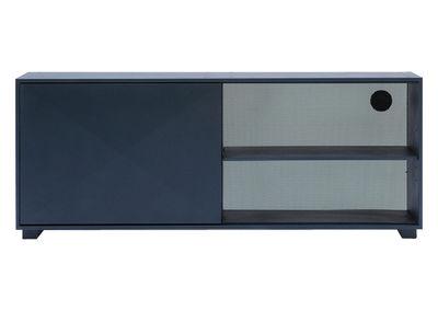 Möbel - Kommode und Anrichte - Diamant Anrichte L 161 cm - Tolix - Grau-anthrazit - Lackierter recycelter Stahl