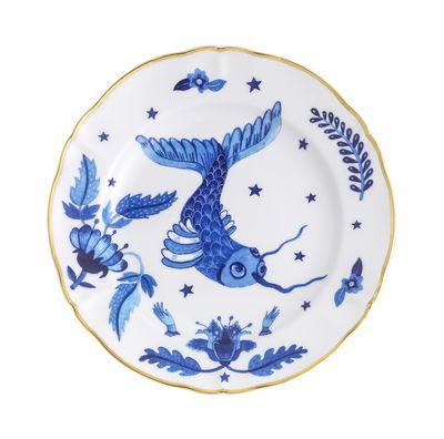 Arts de la table - Assiettes - Assiette Fish / Ø 20,5 cm - Bitossi Home - Fish - Porcelaine