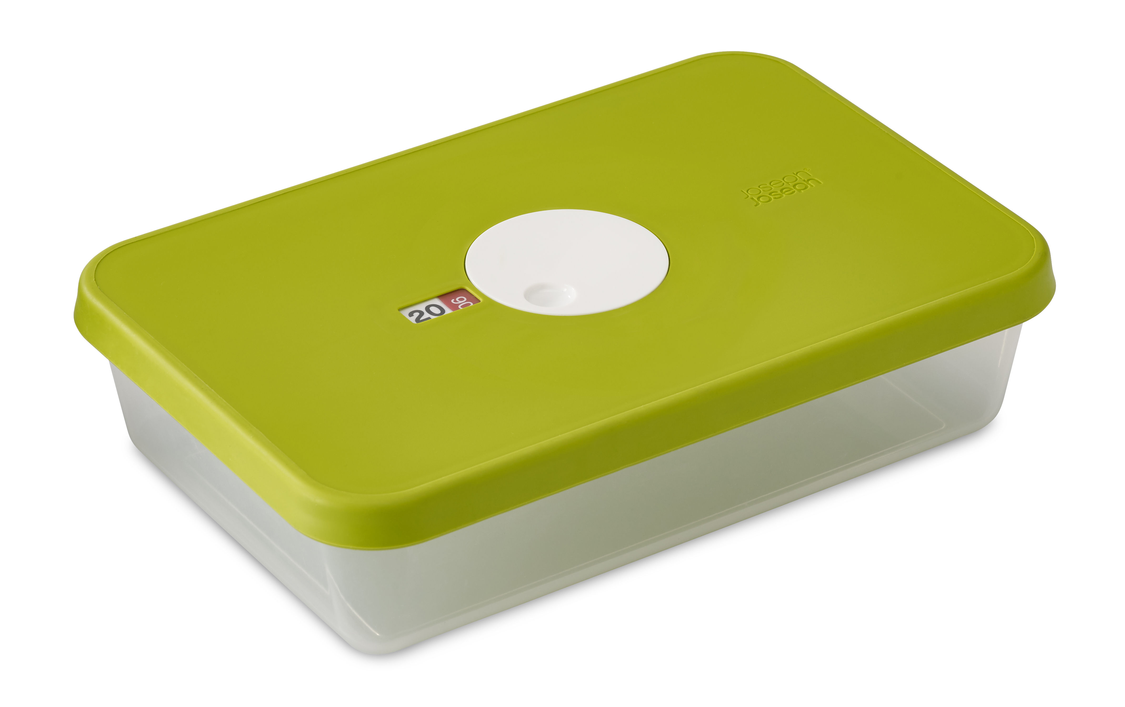 Cuisine - Boîtes, pots et bocaux - Boîte hermétique Dial / Empilable - Joseph Joseph - Vert / Capacité : 2,4 L - Matière plastique
