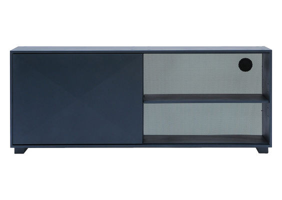 Furniture - Dressers & Storage Units - Diamant Dresser - L 161 cm by Tolix - Dark blue - Lacquered recycled steel