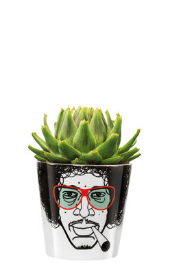 Outdoor - Pots & Plants - Flower Power Jimmy Flower-pot holder by Donkey - H 15 cm / Red - China