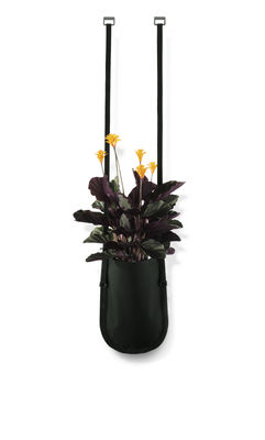 Outdoor - Pots & Plants - Urban Garden Bag Hanging pot - Plant bag to hang 2,5 litres by Authentics - Plant Bag M - 2,5 litres / Green-black - Polyester fabric