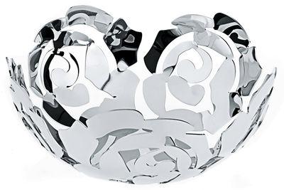 Accessoires - Accessoires für das Bad - La Rosa Korb - Alessi - Ø 21 cm - Stahl glänzend - rostfreier Stahl