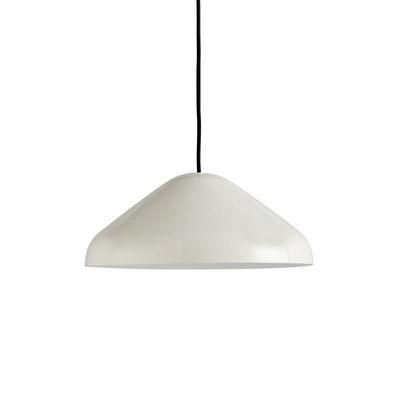 Lighting - Pendant Lighting - Pao Medium Pendant - / Ø 35 cm - Steel by Hay - Cream white - Powder coated steel