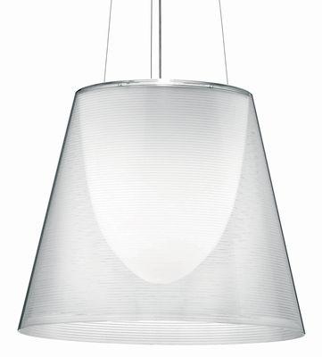 Leuchten - Pendelleuchten - K Tribe S3 Pendelleuchte Ø 55 cm - Flos - Trasparent - PMMA