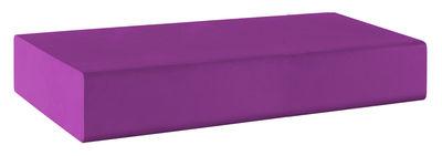 Pouf Matrass Mat 150 - Quinze & Milan violet en matière plastique