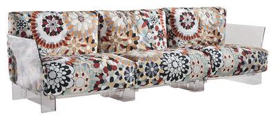 Pop Missoni Sofa 3-Sitzer - Kartell - Beige