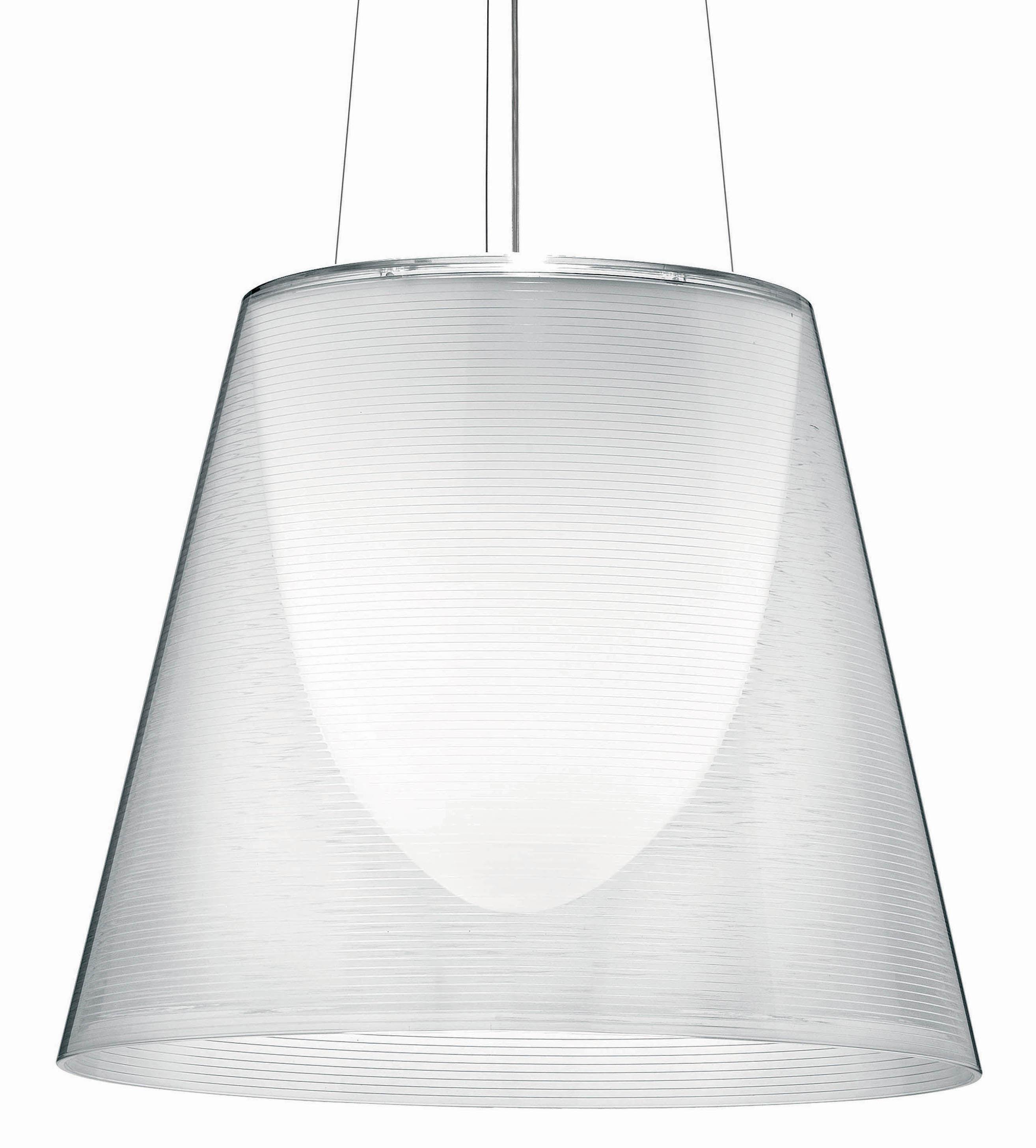 Illuminazione - Lampadari - Sospensione K Tribe S3 - Ø 55 cm di Flos - Trasparente - PMMA