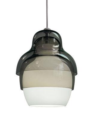 Illuminazione - Lampadari - Sospensione Matrioshka - Innermost - Grigio - vetro soffiato