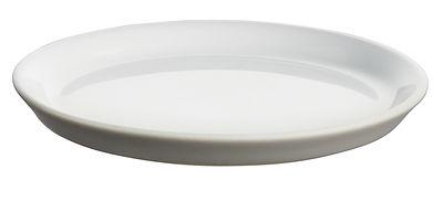 Soucoupe pour tasse expresso Tonale - Alessi gris clair en céramique