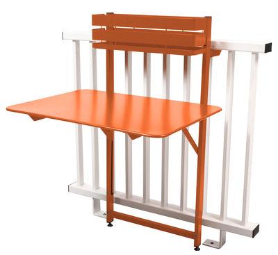 Table Pliante Balcon Bistro Rabattable 77 X 64 Cm Paprika