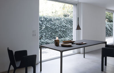 Tavolo Quadrato 140 X 140.Tavolo Quadrato Boiacca Di Kristalia Grigio Made In Design