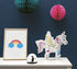 Lily 3D colouring to inflate - / Paper unicorn by OMY Design & Play