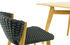 Knit Chair - / Synthetic rope by Ethimo