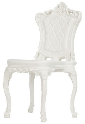 Furniture - Chairs - Princess of Love Chair - Polyethylene by Design of Love by Slide - White - roto-moulded polyhene