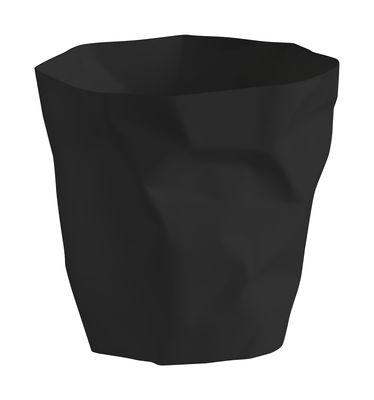 Déco - Accessoires bureau - Corbeille Bin Bin Mini / H 25 - Essey - Noir - Polyéthylène
