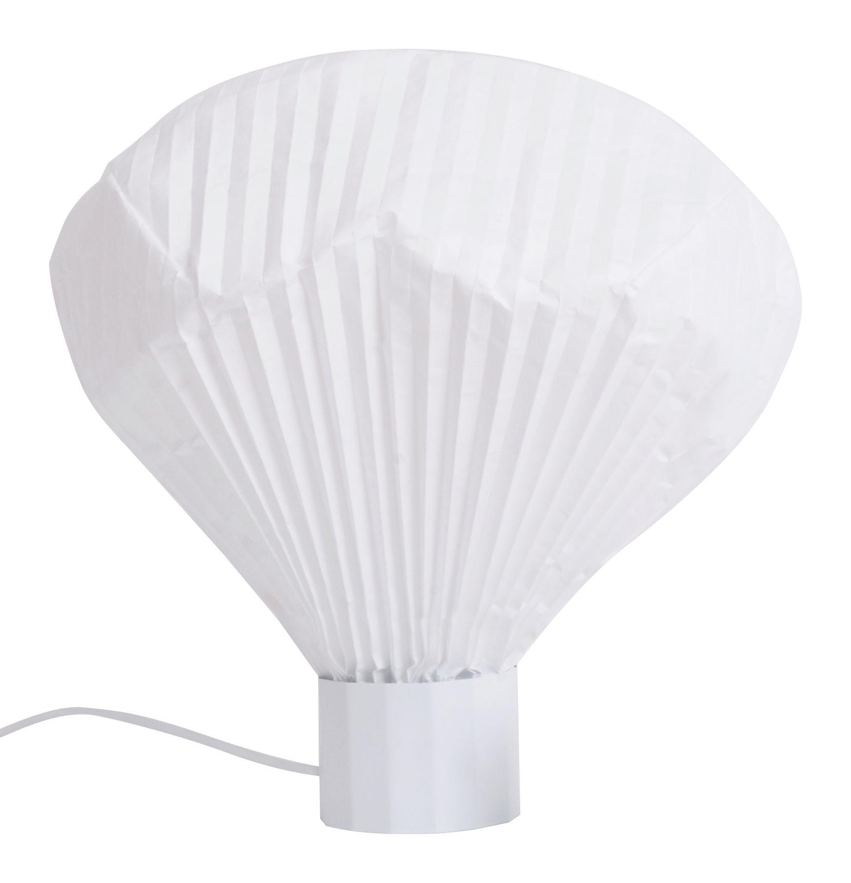 Illuminazione - Lampade da tavolo - Lampada da tavolo Vaporetto - H 36 cm di Moustache - H 36 cm - Bianco - metallo laccato, Tyvek: