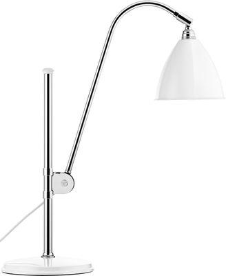 Lampe de table Bestlite BL1 / Réédition de 1930 - Gubi blanc en métal