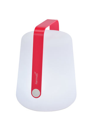 Luminaire - Lampes de table - Lampe sans fil Balad Small LED / H 25 cm - Recharge USB - Fermob - Rose praline - Aluminium, Polyéthylène