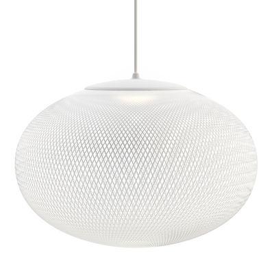 NR2 Medium LED Pendelleuchte / Glasfaser - Ø 55 cm - Moooi - Weiß