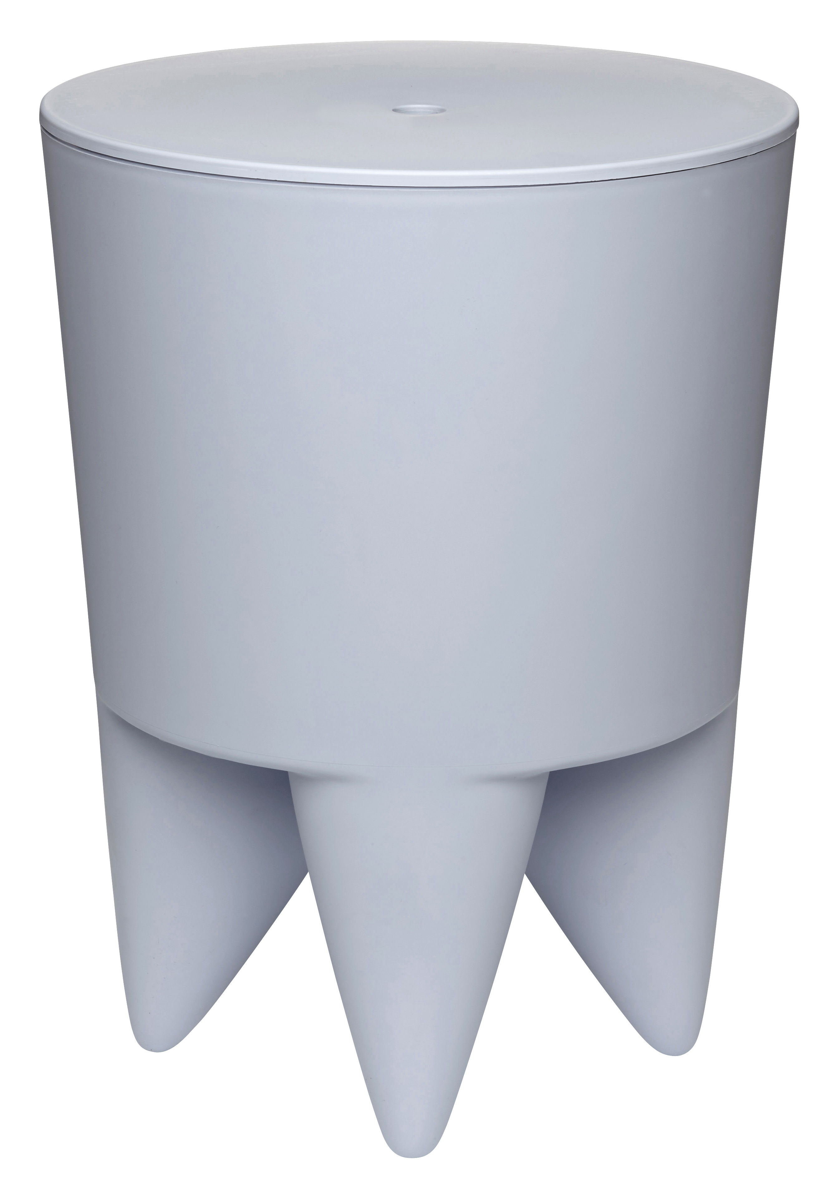 Furniture - Stools - New Bubu 1er Stool - / Box - Plastic by XO - Pale Blue - Polypropylene
