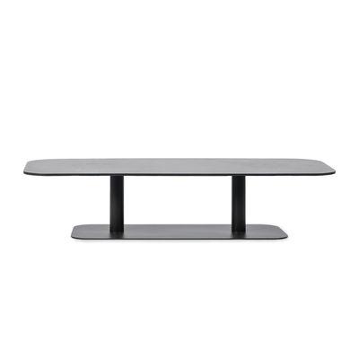 Table basse Kodo / 129 x 45 cm - Aluminium - Vincent Sheppard gris en métal