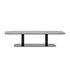 Table basse Kodo / 129 x 45 cm - Aluminium - Vincent Sheppard