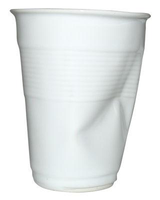 Tasse à café / H 9 cm - Rob Brandt - Pop Corn blanc en céramique